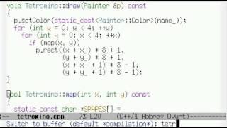 Урок 29. C++ Игра тетрис за 10 минут