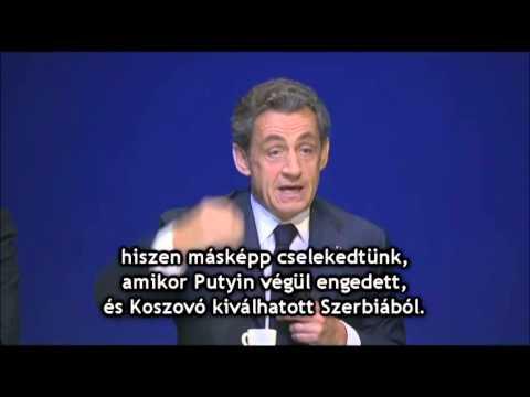 Nicolas Sarkozy: Krím Oroszországot választotta, és ezért nem hibáztathatjuk (2015/02)