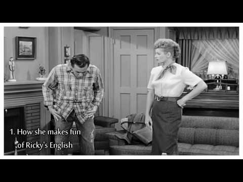 Lucille Ball // 5 Reasons Why We Love Lucy - Ricky's English [1]