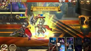 Seven Knights : Castle Rush Spike (How to easy for him)