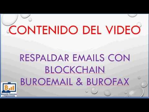 Llega el buroemail gracias a la blockchain.