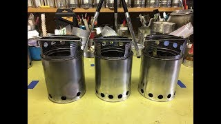 My paint can gasifier wood stoves