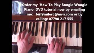 Boogie Woogie Piano Lesson #1 Jerry Lee Lewis / Jools Holland