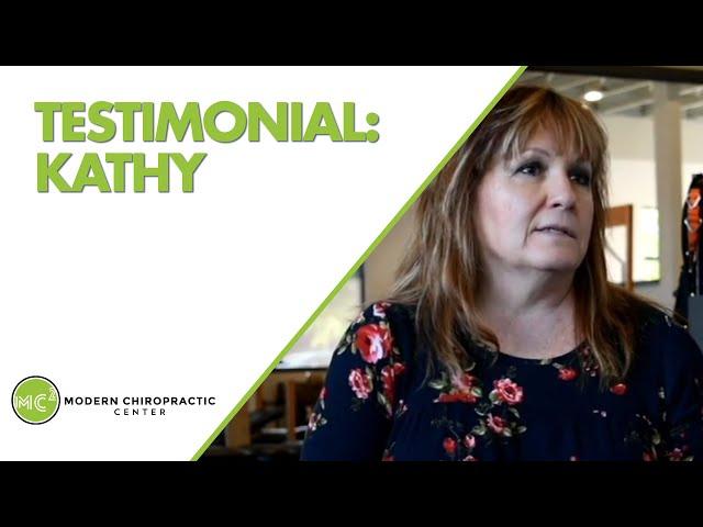 Kathy's Testimonial  | Modern Chiropractic Center