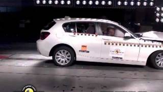 CRASH TEST BMW 1-Series 2012