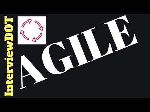 What is Agile Methodology Explain   Its advantages Interview Question