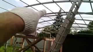 видео Сферы использования навесов из поликарбоната