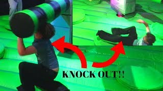 My Nephew Got KNOCKED Out At A Trampoline Park!! *Flip Out*