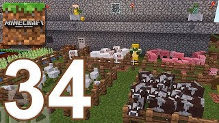 Minecraft: Pocket Edition - Gameplay Walkthrough Part 34 - Survival (iOS, Android)