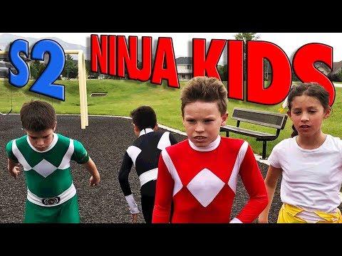 POWER RANGERS Ninja Kidz TV l BTS Continued