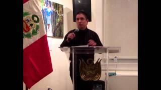 Federico Niche - Rock y Poesia bajo el contexto Peruano (Embajada del Peru en Washington DC)