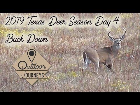 Texas Deer Hunting 2019 Day 4 Big Buck Down
