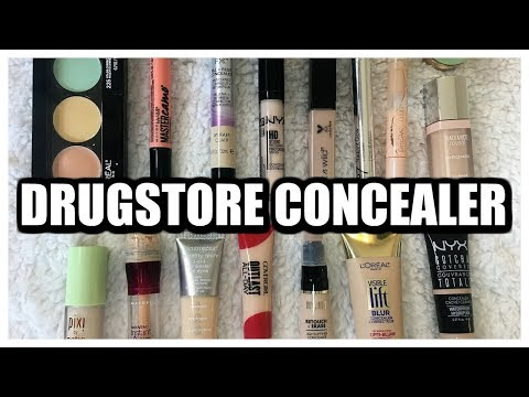 BEST & WORST | Drugstore Concealers