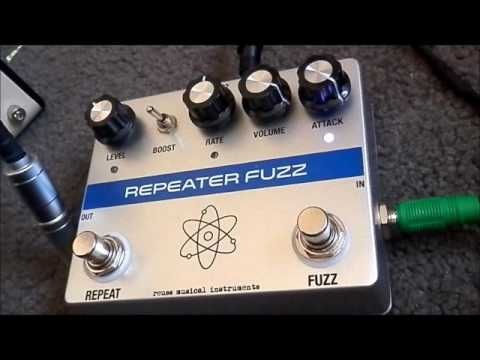 reuss repeater fuzz pedal demo with bass guitar youtube. Black Bedroom Furniture Sets. Home Design Ideas