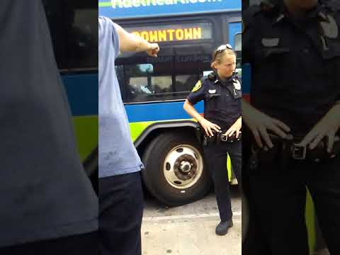 Asheville police forcing homeless off public transport