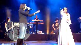 Tarja Turunen live Lyon (Fr) 2012 - Phantom of the opera (guest Zaher Zorgati)