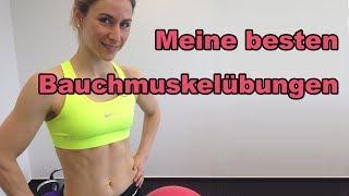 Bauchmuskeltraining mit dem Gymnastikball - Bauchmuskeltraining zu hause - Bauchtraining