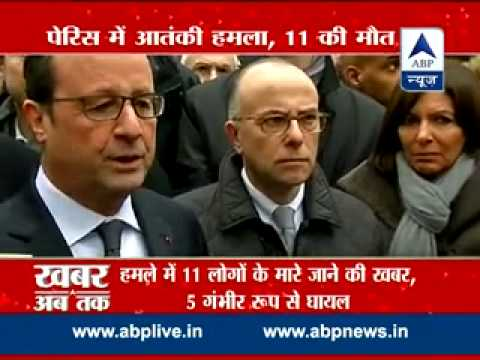 Paris Charlie Hebdo Terror Attack L French President Calls An Emergency Cabinet Meeting