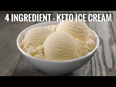 4 INGREDIENT – KETO ICE CREAM!