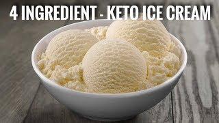 4 INGREDIENT - KETO ICE CREAM!