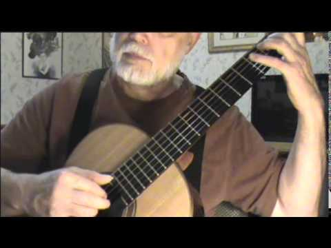 Upwards Over The Mountain Fingerstyle Guitar Youtube