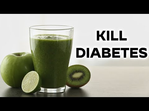 Kill Diabetes With One Juice | New Treatment For Cure Diabetes At Home