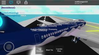 (Roblox) Aqua Airways Economy (A321)