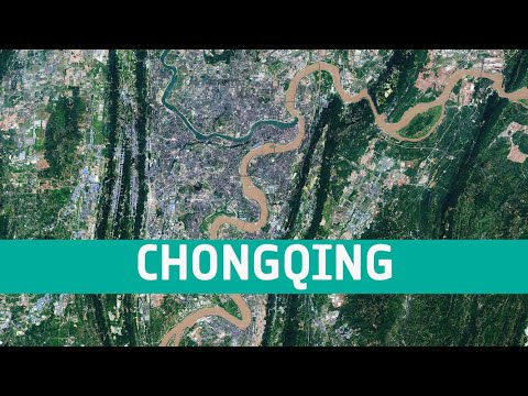 Earth from Space: Chongqing, China