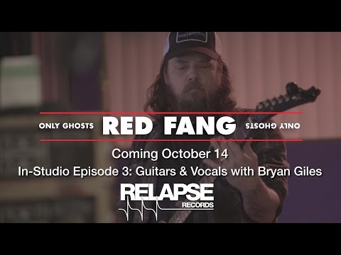 RED FANG 'Only Ghosts' In-Studio Episode 3 - Guitars & Vocals