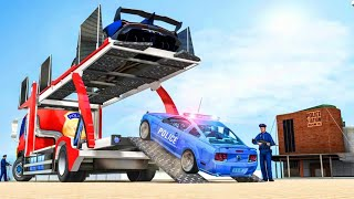US Police Cruise Ship Plane Truck Transport 2019 Android Gameplay