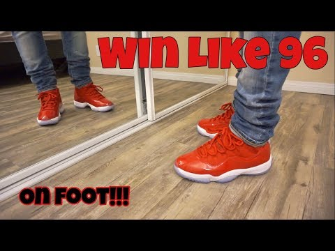 Jordan 11 Win Like 96 Review + On Foot
