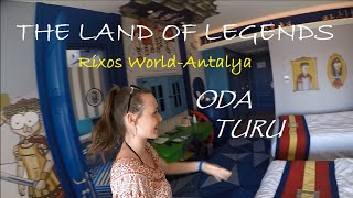 Otel Odası Turu | The Land Of Legends Antalya (Rixos World) Türkçe