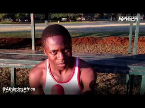 Interview with Alfred Chawonza - Zimbabwe Youth 800m