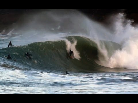 Surfing and Bodyboarding a Secret Spot in Cornwall Part 2