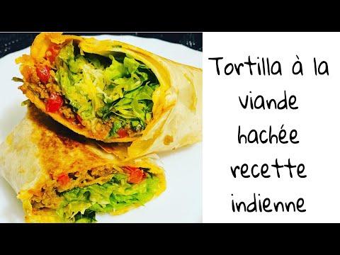 tortilla-à-la-viande-hachée-(recette-indienne)
