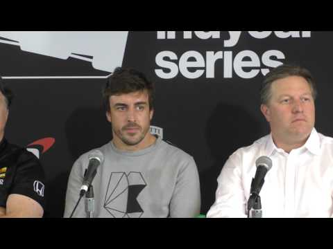 """Alonso - """"the Indy 500 is the biggest race in the world"""" Full Press Conference"""