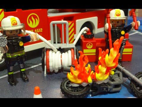 playmobil pompier feuerwehr neu fire rescue youtube. Black Bedroom Furniture Sets. Home Design Ideas