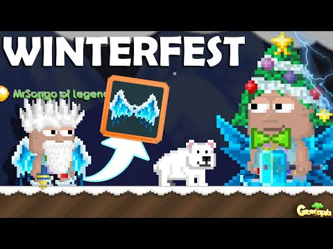 NEW FROZEN WING + WINTERFEST 2019!! (ALL NEW ITEMS) | Growtopia