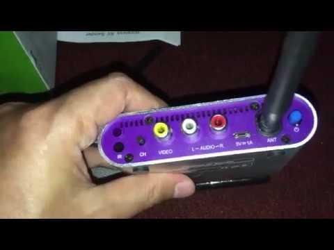 High Power Wireless Audio Video AV 8CH Transmitter Receiver CCTV Camera