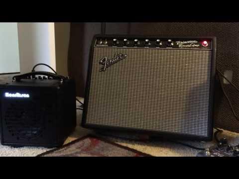 Henriksen The Bud  Versus  Fender Princeton Reverb Reissue PRRI