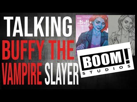 Talking Buffy The Vampire Slayer With Boom! Studios