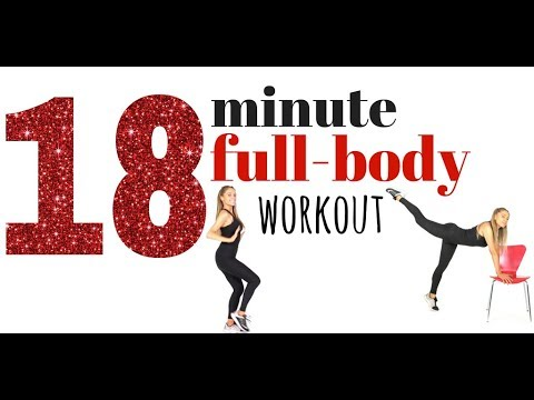 FULL BODY WORKOUT FOR WOMEN - Burn more calories and tone up all over - full exercise video