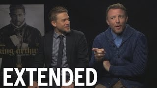 Charlie Hunnam And Guy Ritchie Talk 'King Arthur' And Secret Talents | EXTENDED