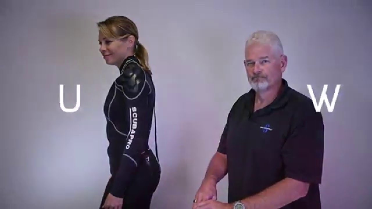 c10fe259674 SCUBAPRO - How to properly zip a wetsuit - YouTube