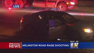 Police: Man Shot In Arlington Road Rage Incident