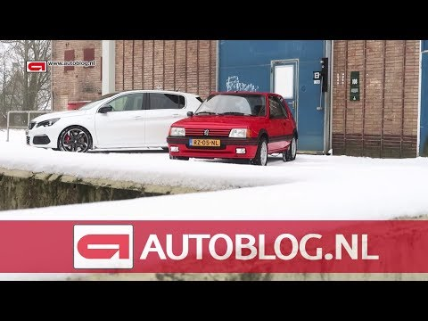 Vergelijking: Peugeot 308 GTi vs 205 GTi