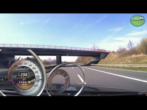 Mercedes C200 CGI BlueEfficiency T-Modell (S204) 0-234 km/h