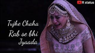 Tujhe chaha rab se bhi jyada status// Karan and Preeta new sad status/KUNDALI BHAGYA STATUS