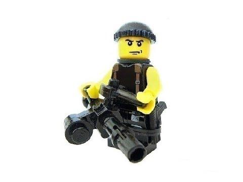 Resistance 2 Custom Lego Figures - YouTube