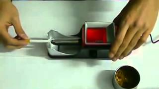 Repeat youtube video GERUI GR 12 002-Aparat electric de injectat tutun in tuburi